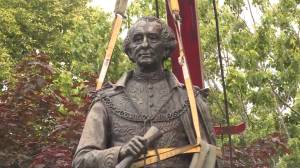 Fate of Macdonald statue at Kingston's Cataraqui Cemetery could take a while (03:07)