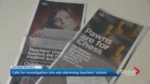 Newspaper ads on education in Ontario under scrutiny