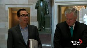 Coronavirus: Mnuchin, Meadows say talks with Democrats on COVID relief productive, deal not 'imminent'