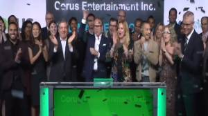 Corus Entertainment opens the Toronto Stock Exchange