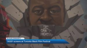 '2020' director and co-writer A.P Nkunzi talks about the film's screening at the Toronto Black History Film Festival (04:57)