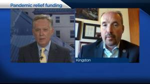 Kingston's mayor is hopeful $12 million in new pandemic relief funding will be enough to cover municipal deficit. (05:02)