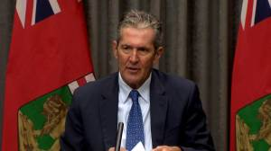 Coronavirus: Pallister stressing positive test numbers over total confirmed cases (02:24)