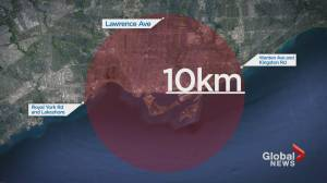 What would it look like if Beirut's deadly blast occurred in Toronto