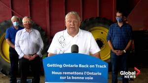 Coronavirus: Ford says Ontario will provide additional funding to farmers