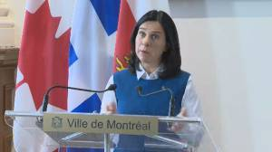 Coronavirus outbreak: Montreal mayor says transit will stay running unless provincial directive issued (01:02)