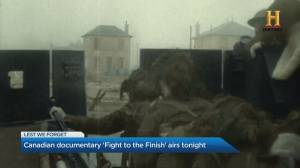 'Fight to the Finish' documentary honours the heroes of WWII (04:51)