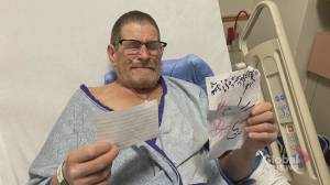 Homeless Calgary man recovering in hospital moved to tears by community support
