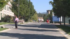 Okanagan post-secondary students adjusting to 'new normal' (01:57)