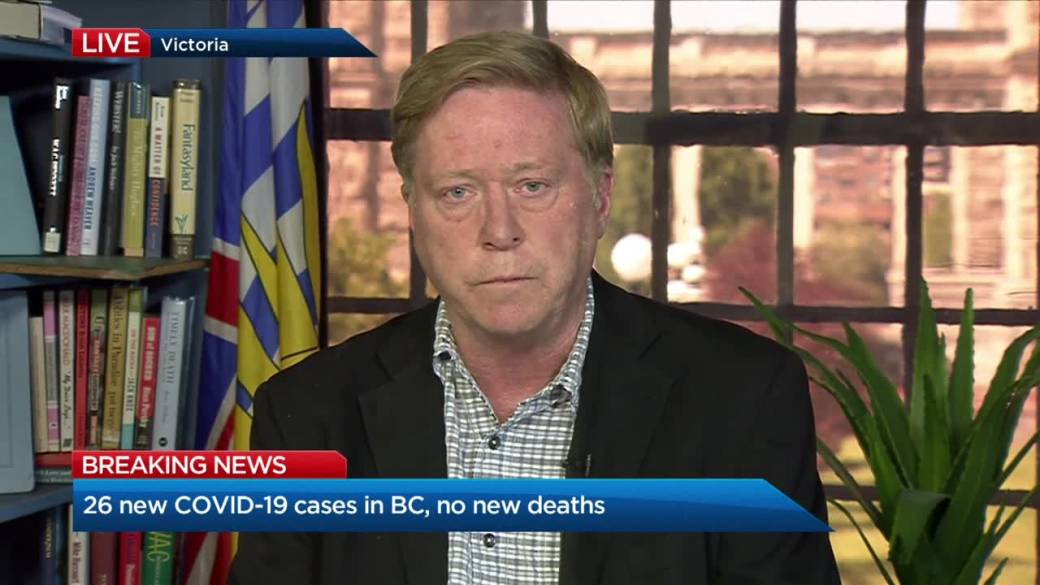B C Reports 26 New Covid 19 Cases No New Deaths Over Three Day Period Globalnews Ca