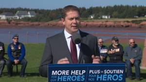 Federal Election 2019: Scheer says Conservatives would clear backlog on veteran benefits, change pensions