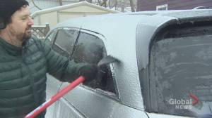 Ice storm hits the Maritimes