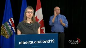 Alberta identifies 64 new COVID-19 cases, one new death on Thursday