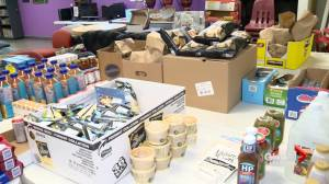 Shelter's food program saved by donations