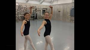 Two young Kingston dancers are heading to the big time