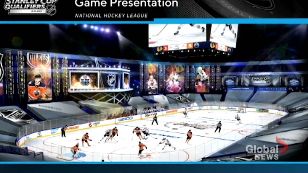 Click to play video 'Stanley Cup playoffs: NHL releases new 'bubble' details'