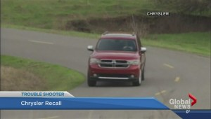 Chrysler recalls SUVs