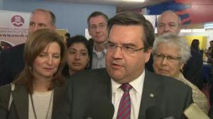Raw video: Coderre on EMSB candidates