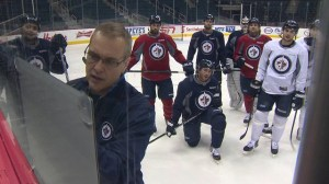 Jets new bench boss makes his debut Monday night