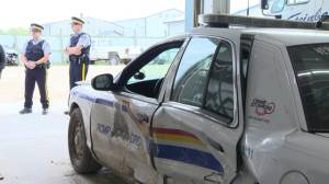 Police talk about crash with impaired driver