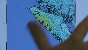 Extended: Port Hardy earthquake shaking zone