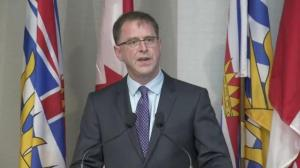 Raw: Adrian Dix resigns as NDP leader