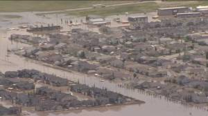Raw Video:  Flooding disaster in High River