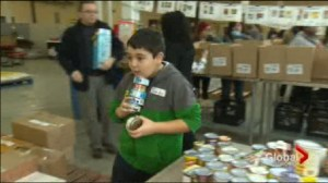 Food Bank Donations Down