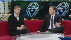 Whitecaps head coach Carl Robinson
