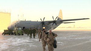 Soldiers return home from Afghanistan