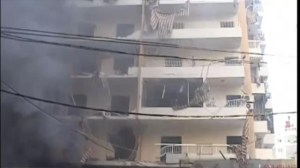 Raw video:  Scene of deadly blast in Beirut
