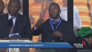 Mandela memorial interpreter reportedly faced murder charge