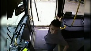 Arrest made in bus driver assault