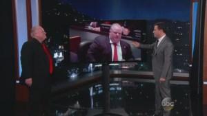 Toronto Mayor Rob Ford on Jimmy Kimmel: Pt. 2