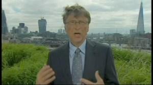 Bill Gates comments on Mandela's hospitalization