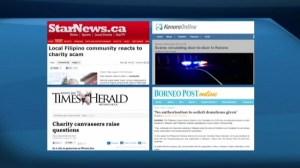Charity scam hits Winnipeg