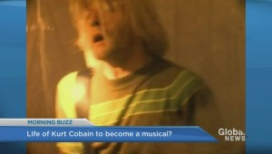 Kurt Cobain's life story being turned into a Broadway show