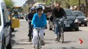 Mississauga tries to become a cycling city