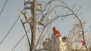No power on Christmas Eve