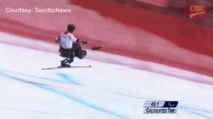 Silver and bronze for Canada in men's Paralympic sit-ski downhill at Sochi
