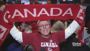 Canadians celebrate hockey gold medal win across the country