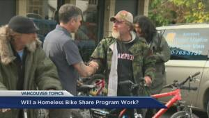 Bike share program helps recovering DTES addicts
