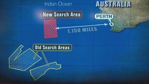 Planes scouring new search area for missing Flight MH370