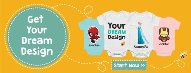 Shopping: Personalised Baby Gift @ TeezBee, The Jesselton Girl