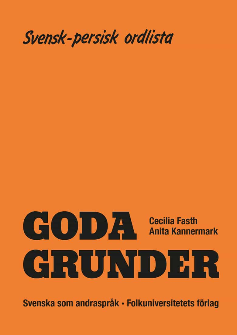Goda Grunder svensk-persisk ordlista