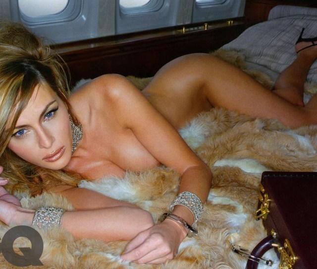 Melania Trump Topless Nude Photo Shoot British Gq