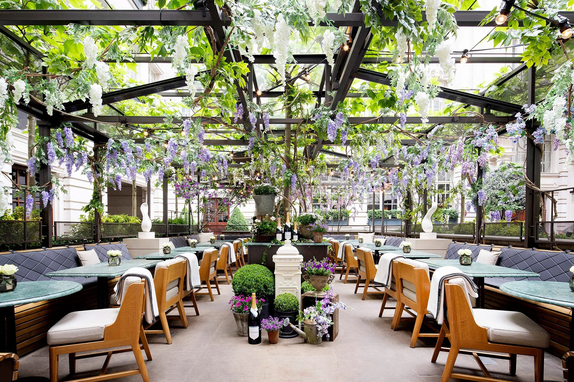 Best Al Fresco Restaurants In London British Gq