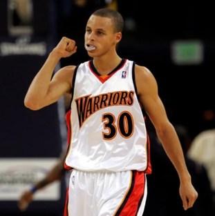 Steph Curry rookie season