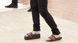 4d84b9c9b Gucci Slides Women In Clever Bow Gucci Sandal Sandal Bow Women ...
