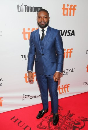 Image result for David Oyelowo IN DOLCE & GABBANA AT THE 2015 EMMY AWARDS